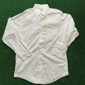 Brooks Brothers White Dress Shirt Size 16-33